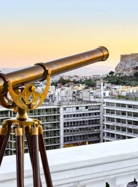 יוון החדשה השקעות נדלן ביוון תצפית לאקרופוליס