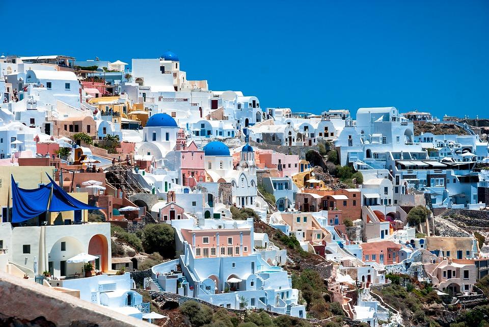דירות נופש בסנטוריני, יוון